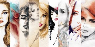 Tečaj crtanja i slikanja portreta