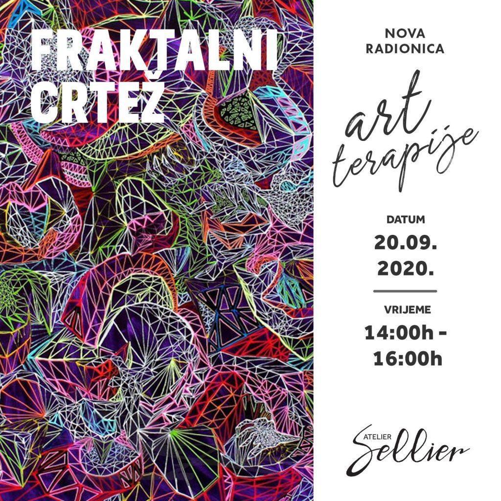 ART TERAPIJA - FRAKTALNI CRTEŽ